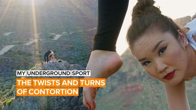 My Underground Sport: The mesmerizing moves of a contortionist