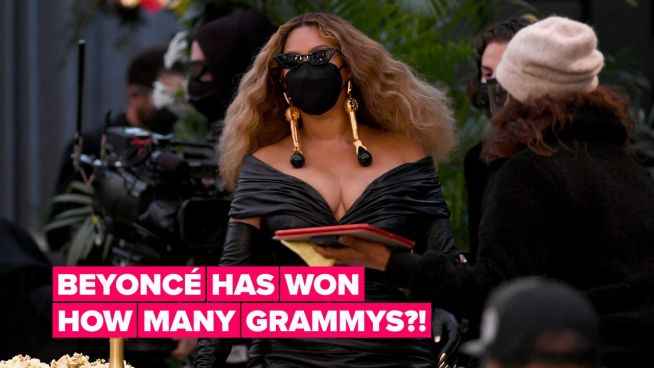 Beyoncé makes Grammy history as most-decorated female artist ever`
