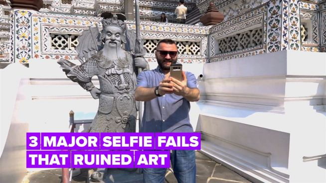 3 major selfie fails… This is why we can't have nice things!
