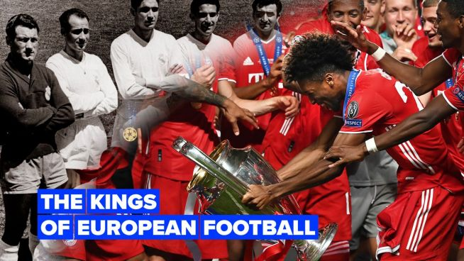 The teams with the most European trophies