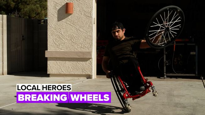 Local heroes: The Wheelchair athlete who became an inspiration for the BMX community