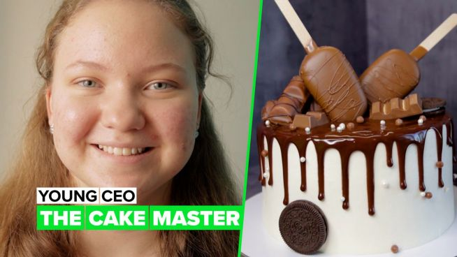 Young CEO: Master cakes made by a teen
